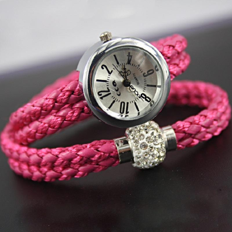 Braided Leather with Magnetic Buckle Watch