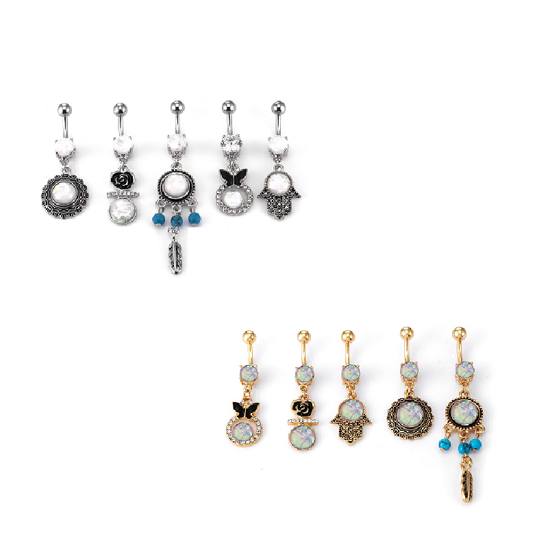 Posey Navel Piercing (5 Pieces/Set)