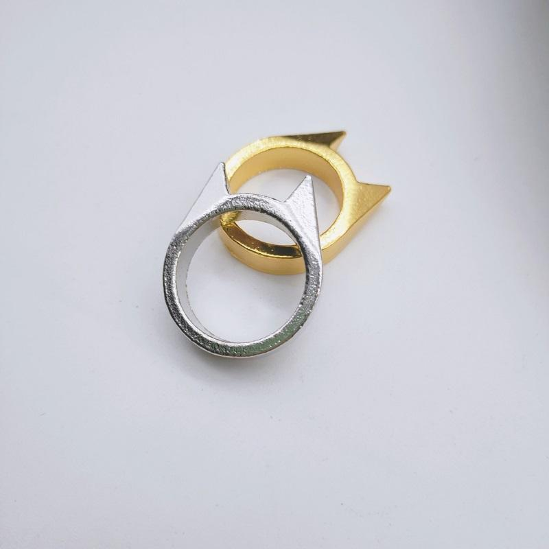 Cat Ear Minimalist Ring