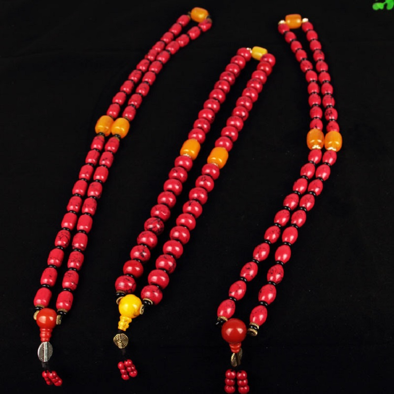 Red Beads Vintage Car Accessories
