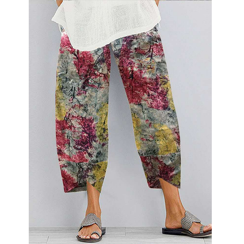 Emi Ethereal Forest Print Pants