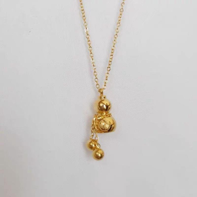 Golden Gourd Necklace