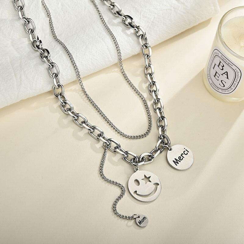 Smiles and Chains Jewelry Set