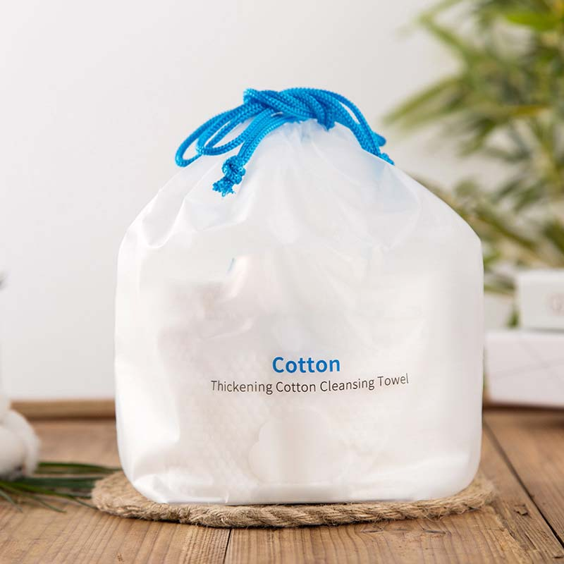 Cotton Tissue in Blue Braided Ribbon Packet