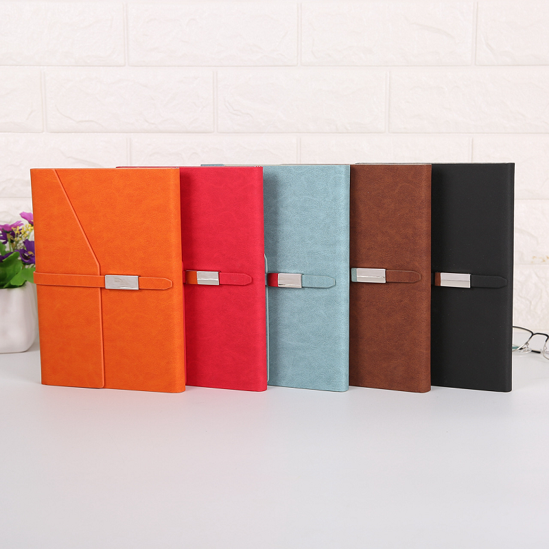 Monochrome Flap and Buckle Notebook