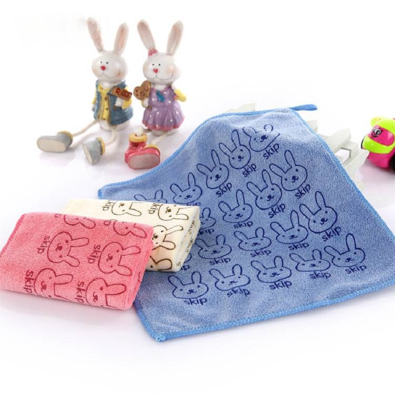 Absorbent Printed Square Towel