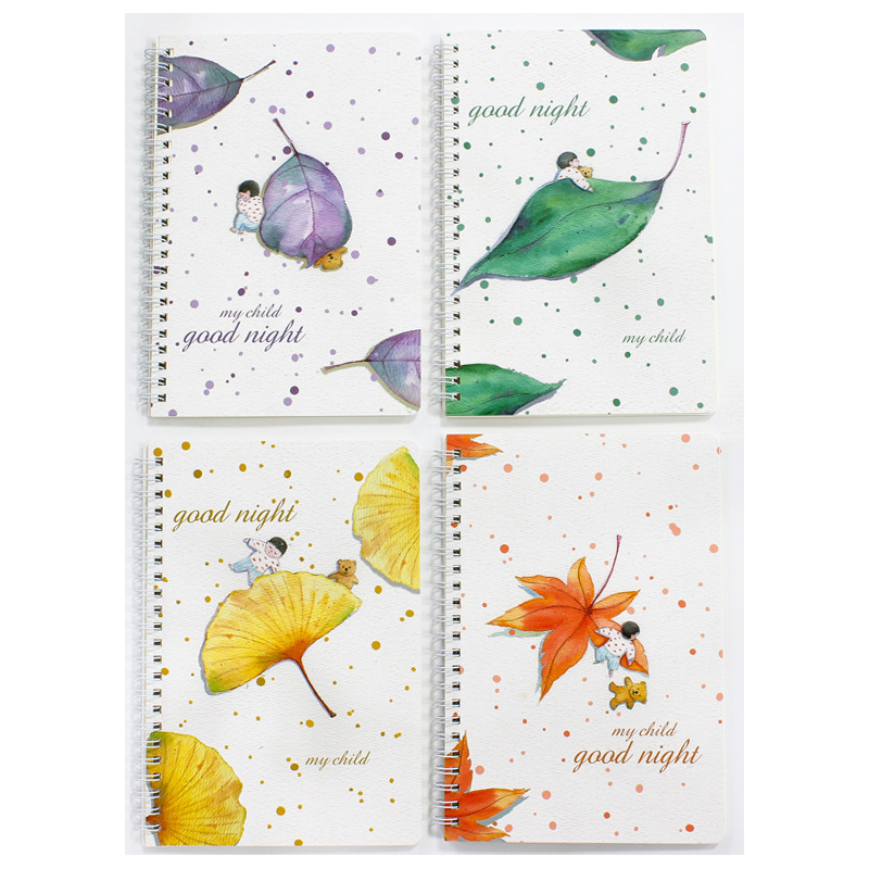 Themed A5 Notebook Sets (4 Pieces/Set)