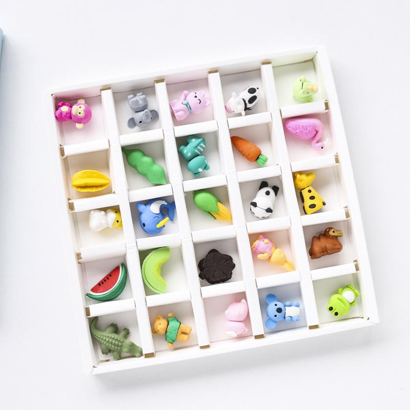 Food and Friends Special Eraser Set