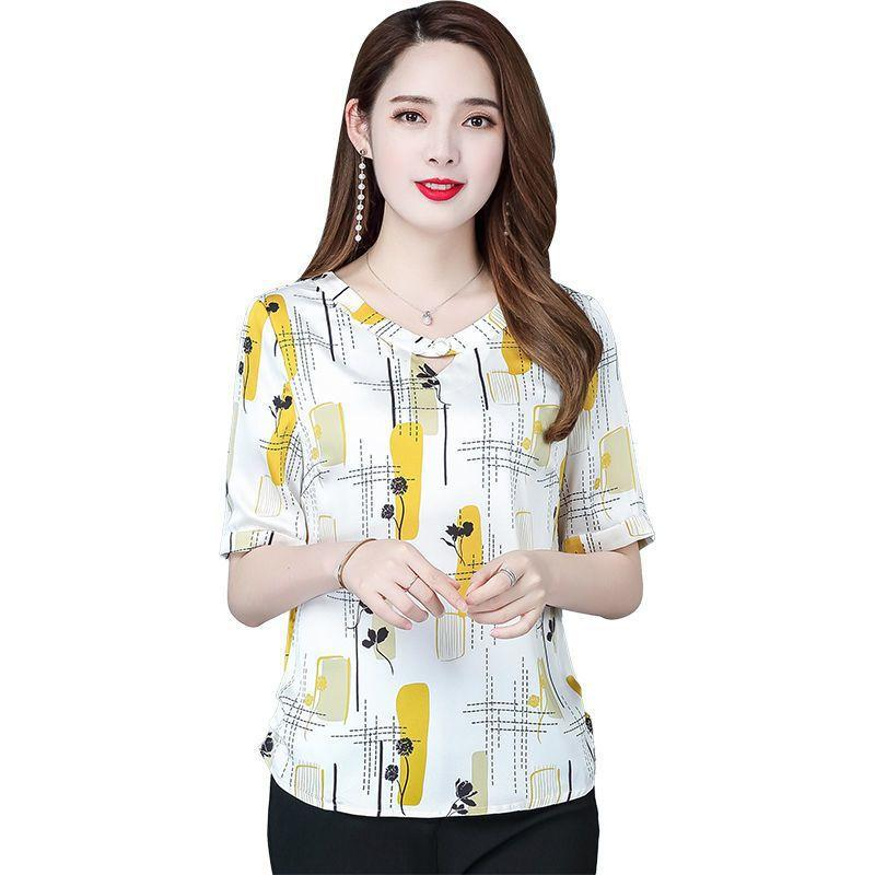 Faye Floral Abstractions Blouse