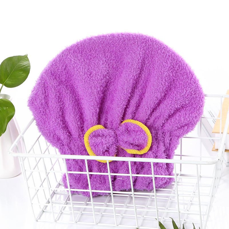 Orzea Outlined Bow Hair Drying Cap