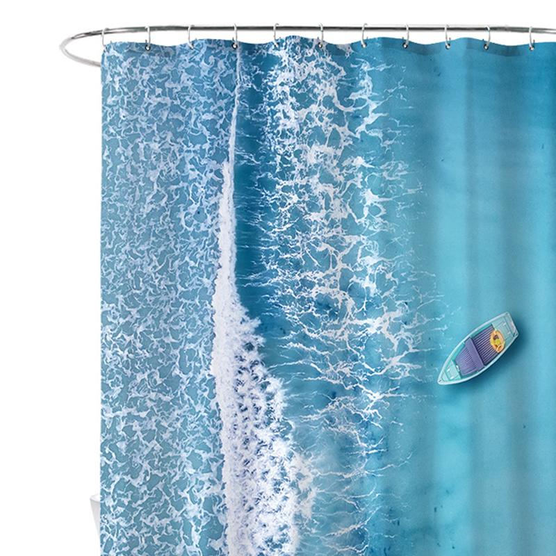 Scenic Ocean View Shower Curtain
