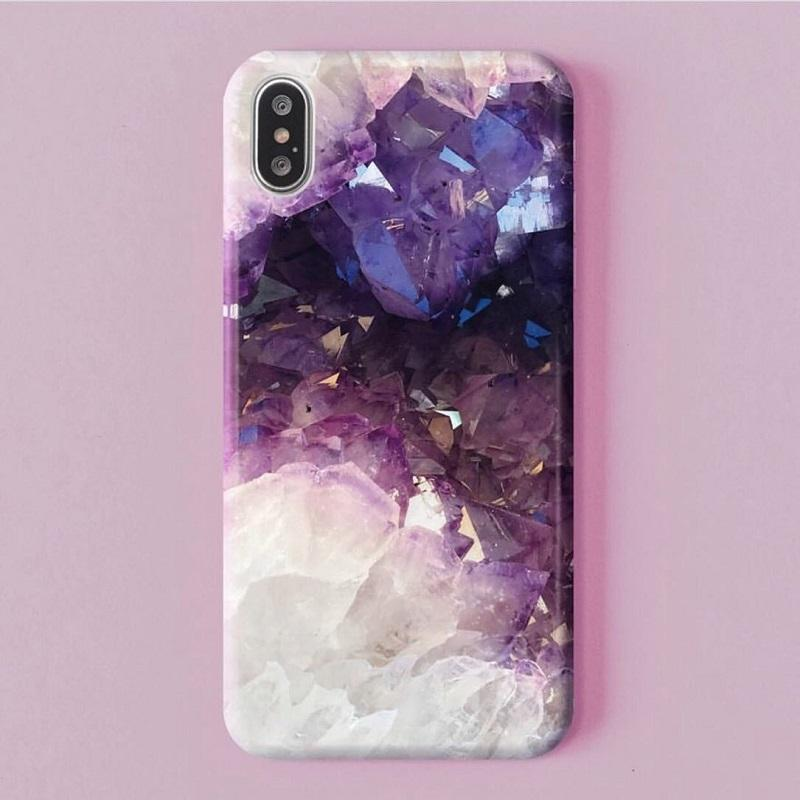 Purple Geode Phone Case