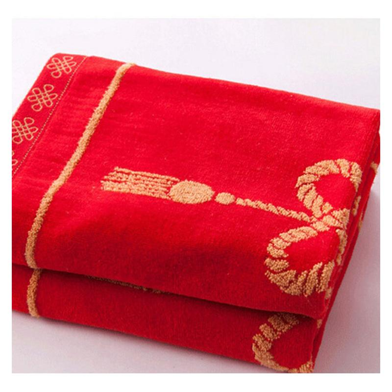 Traditional Chinese Red Wedding Pillow Case