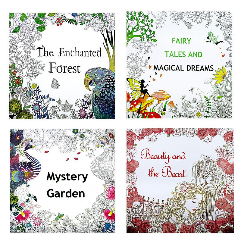 The Enchanted Forest Adult Coloring Book