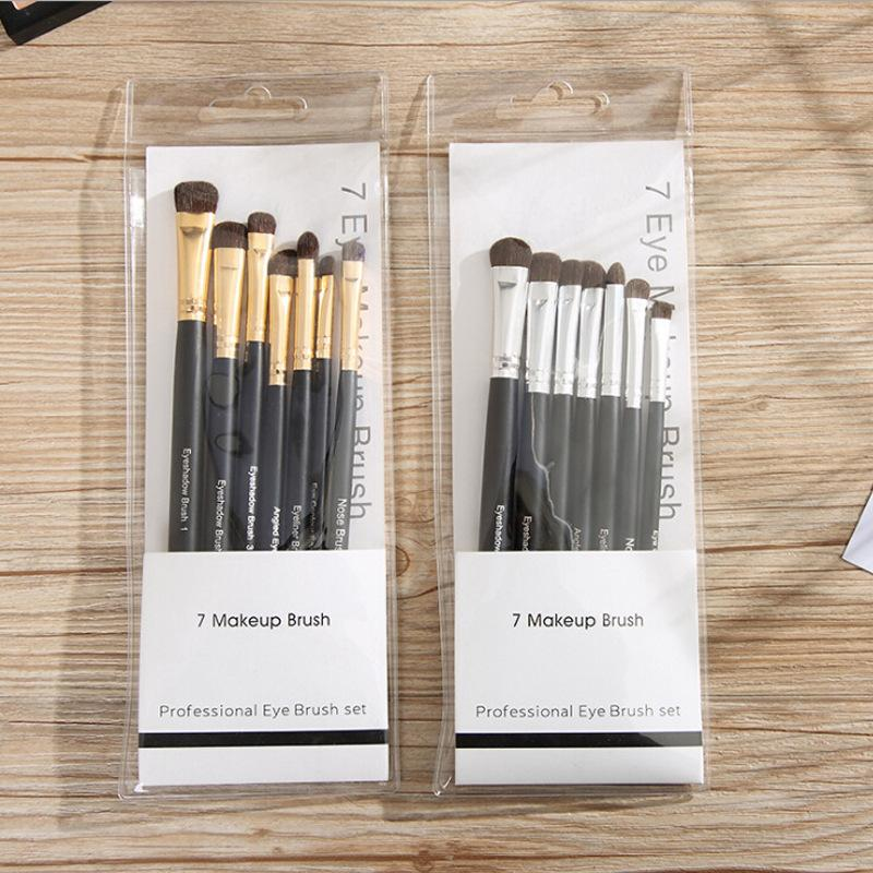 Eye Shadow 7-piece Brush Set