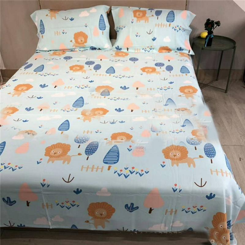 Relaxing Summer Cool Bed Sheets with Pillowcase