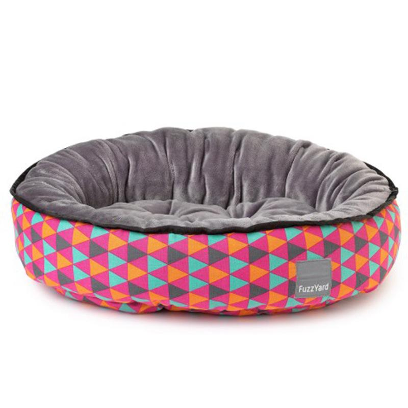 Triangle Pattern Pet Bed