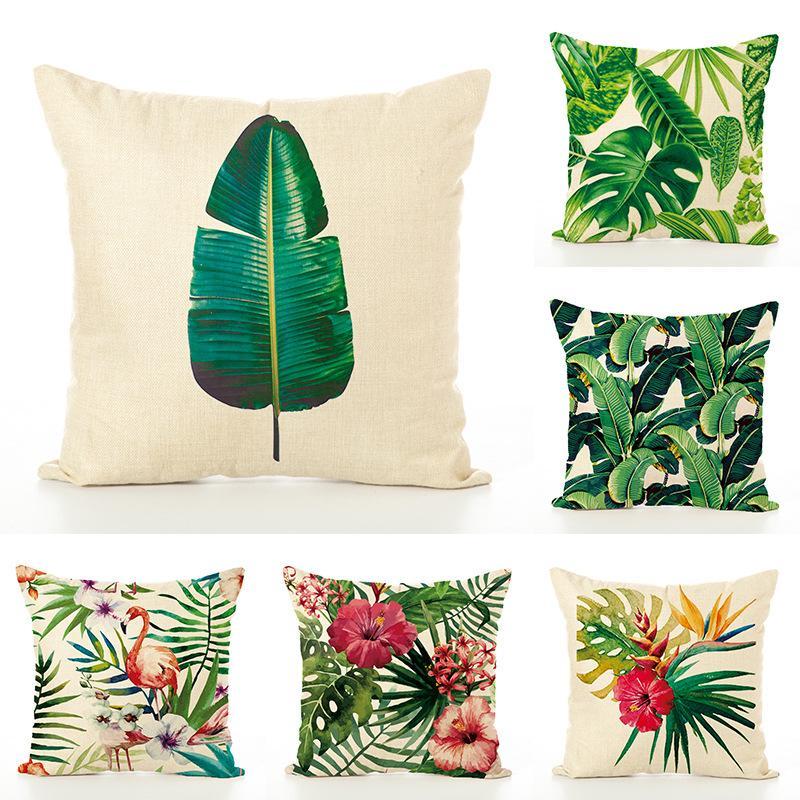 Tropical Plant Pillowcases