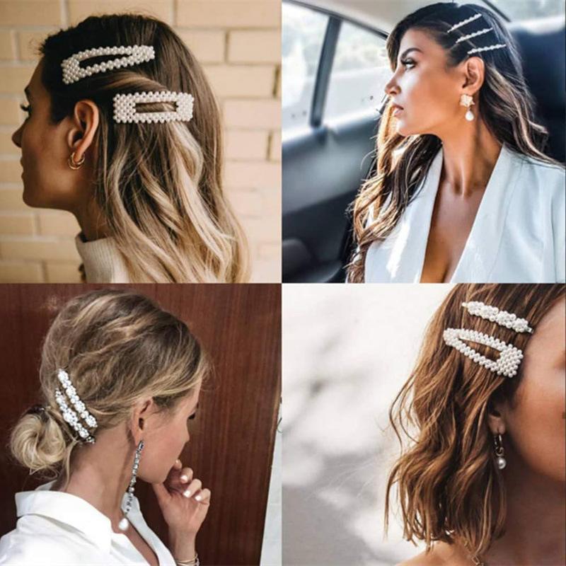 Ainne Pearl Hair Clip