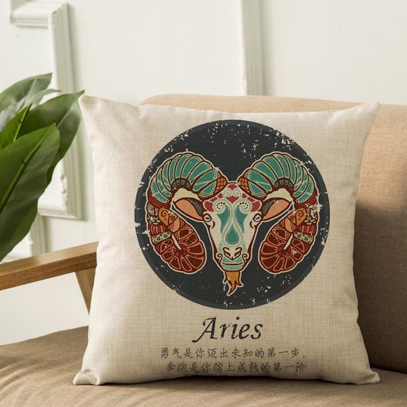 Zodiac Signs Pillow