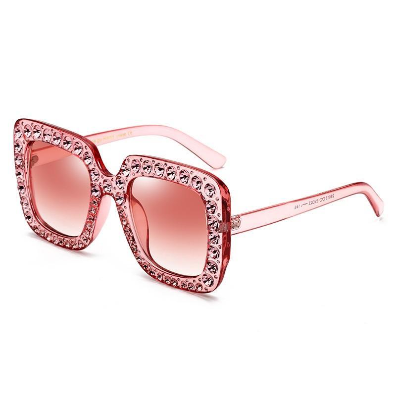 Rhinestones Eye Rim Butterfly Sunglasses