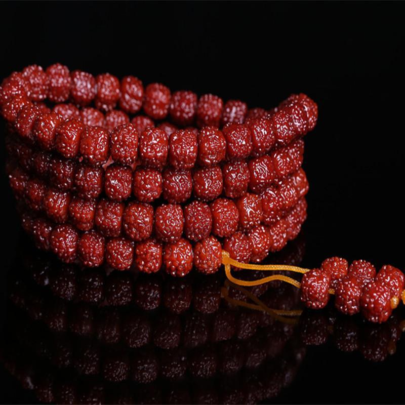 Dragon Scales 108-Bead Bracelet