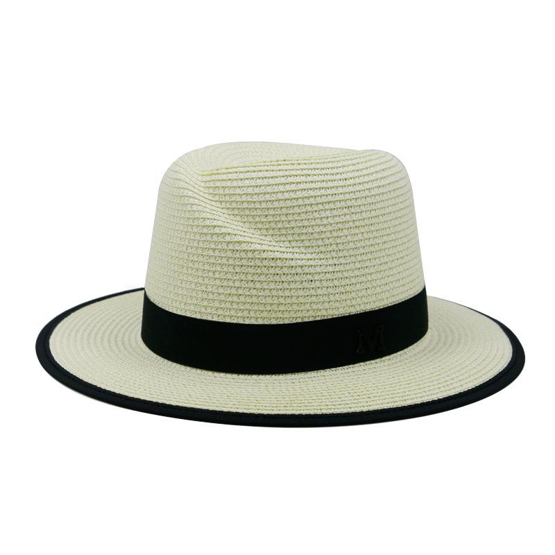 Unisex Sun Shade Straw Hat