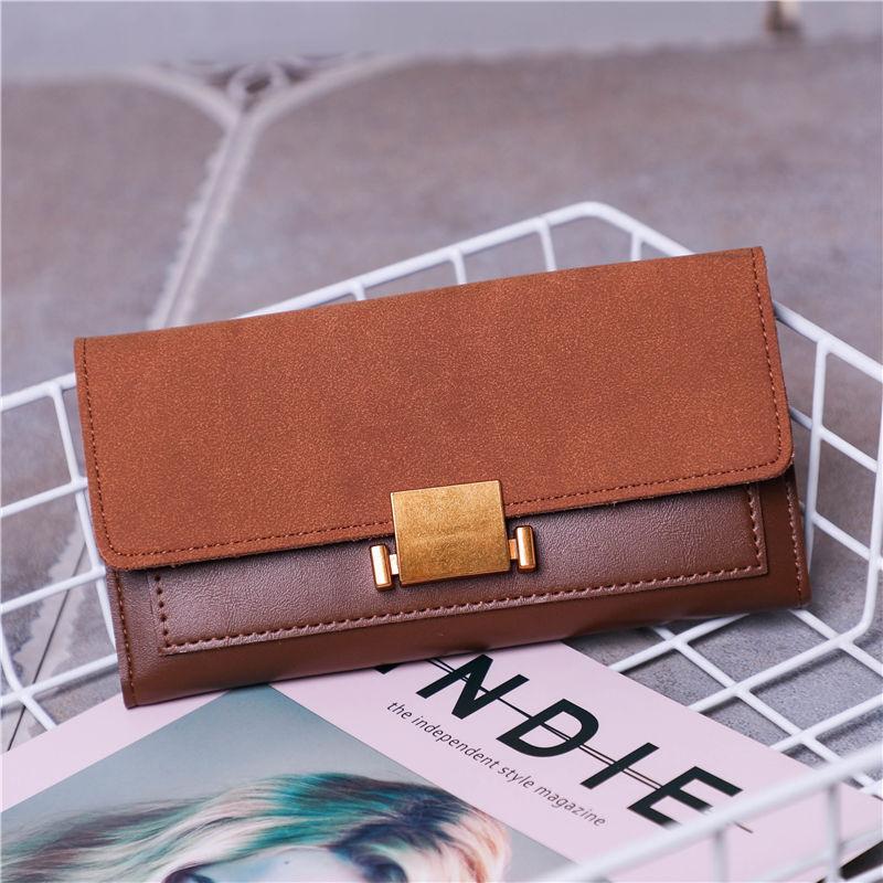 Simple Lock Long Wallet