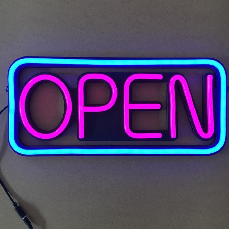 OPEN Neon Lights