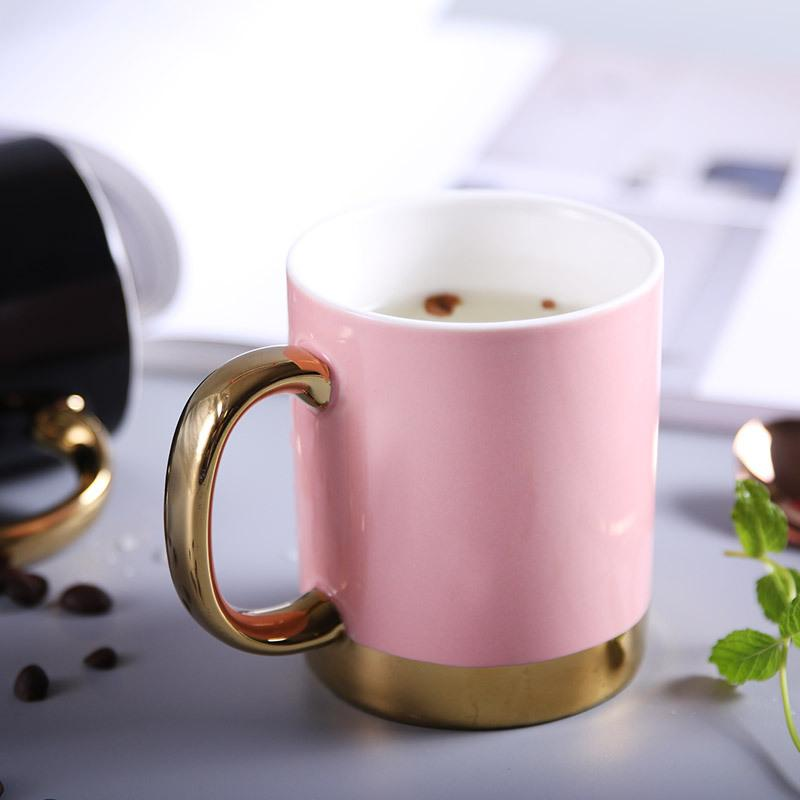 Gold Lined Ceramic Mug