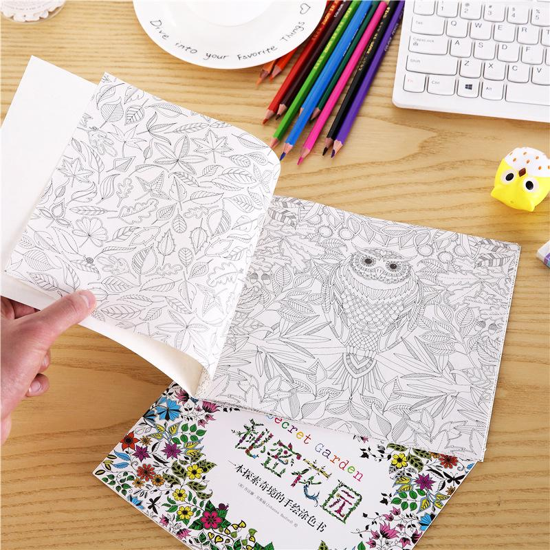 Secret Garden Mini Coloring Book