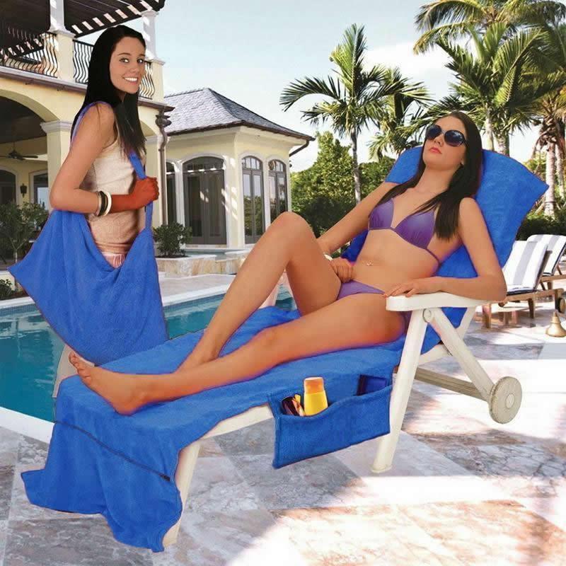 Beach Chair Cover Towel