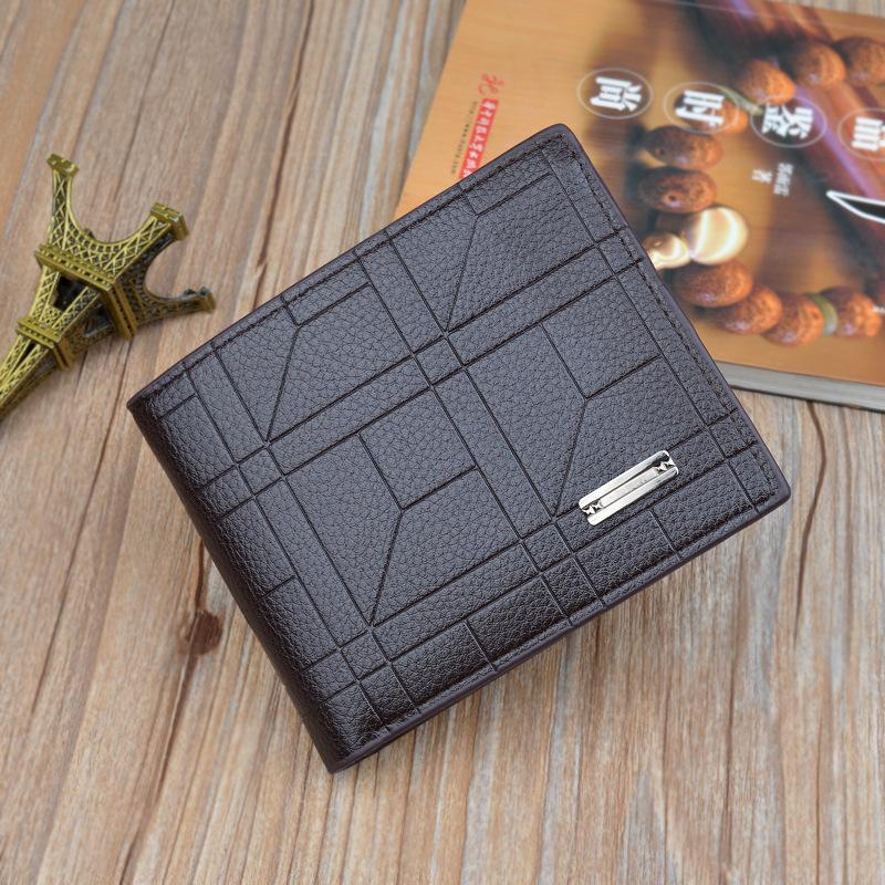 Cable Pleather Wallet