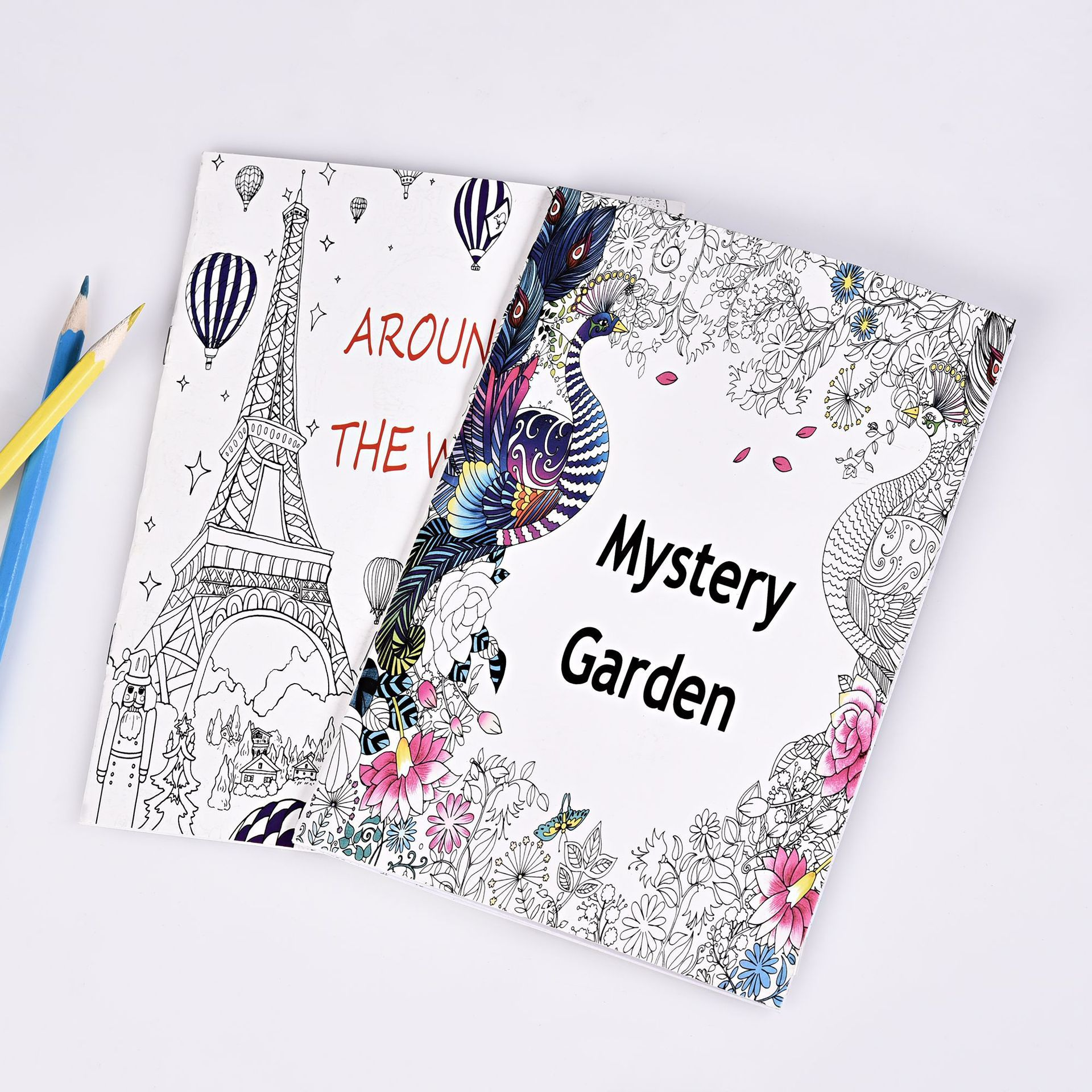 Nature Lover Adult's Coloring Book