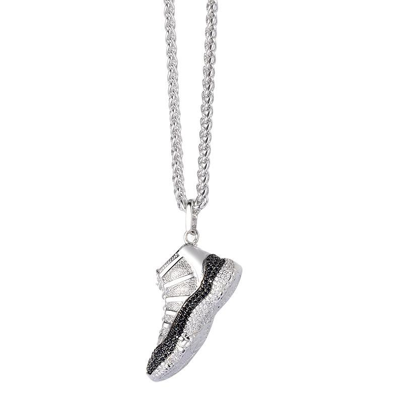 Bedazzled Sneaker Necklace