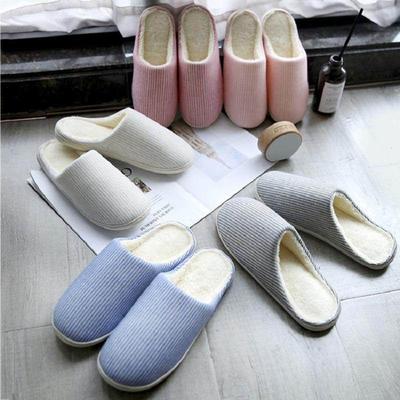 Stripes Slip-On Indoor Slippers