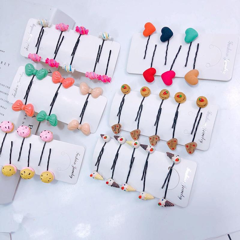 Alluring Bobby Hair Pins (5 Pairs/Set)
