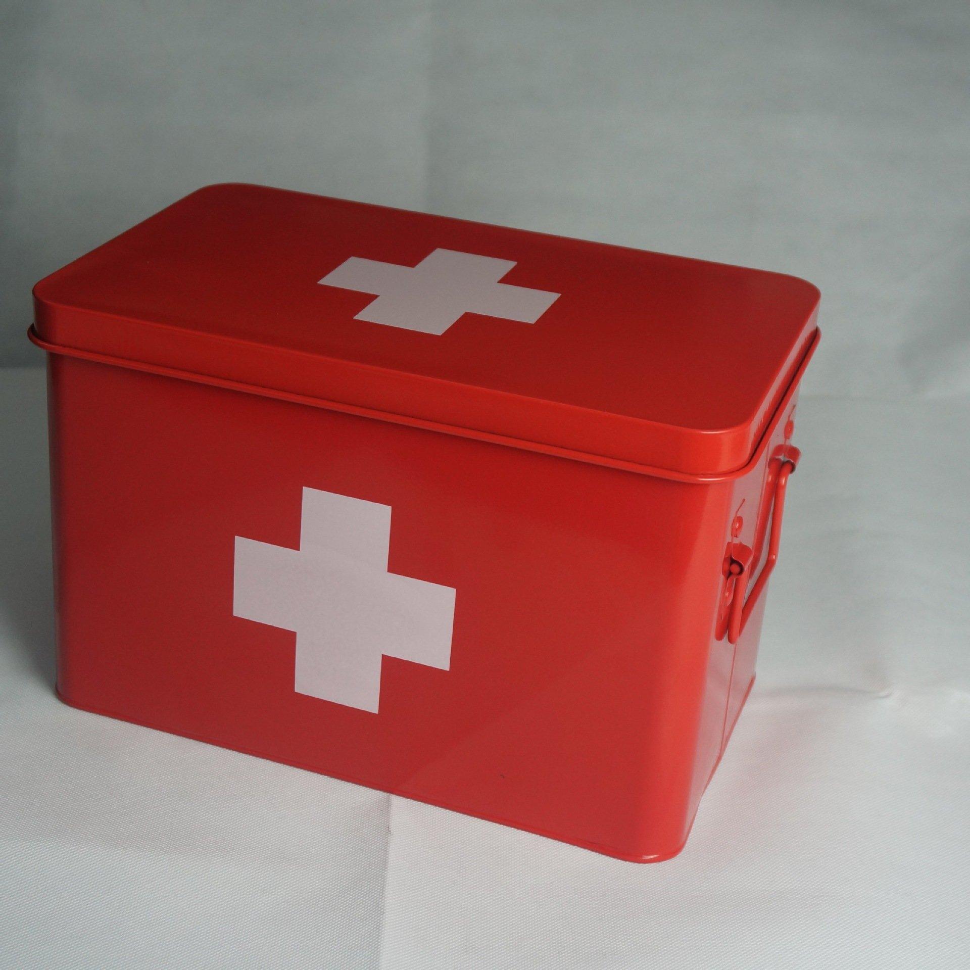 First Aid Medicine Box