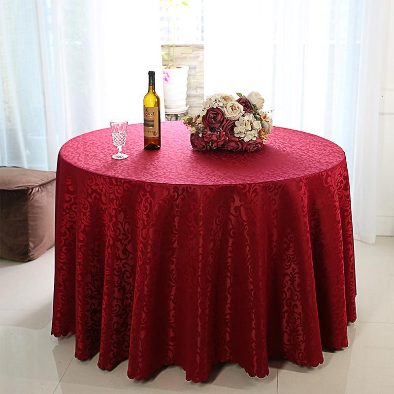 Weaved Polyester Tablecloth