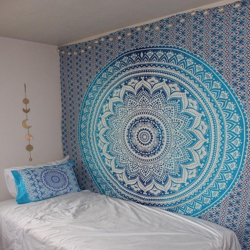 Iced Mandala Tapestry