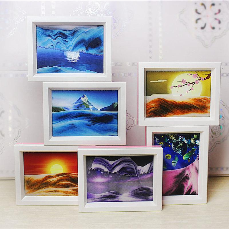 Dual Sided Photo Frame with Mirror