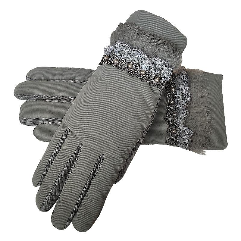 Women's Thick Outdoor Gloves