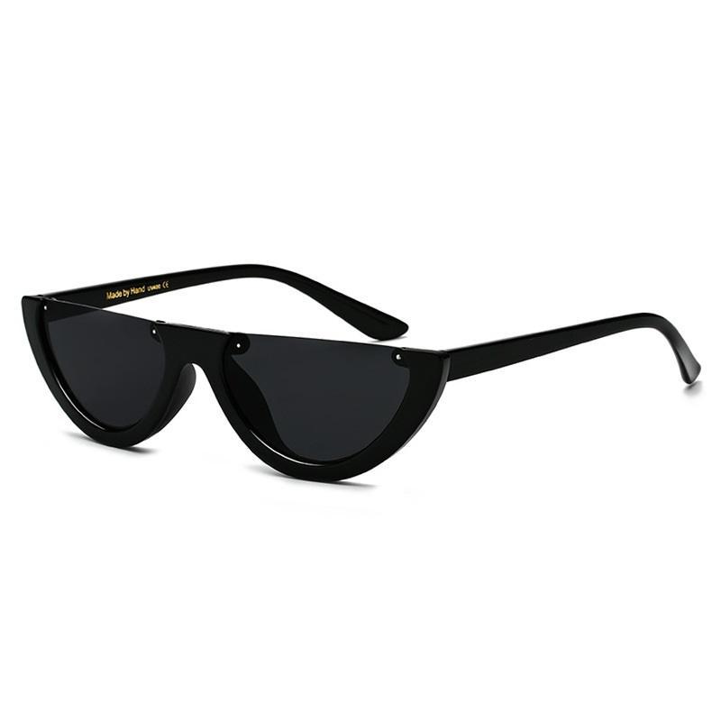 Half Frame Punk Sunglasses