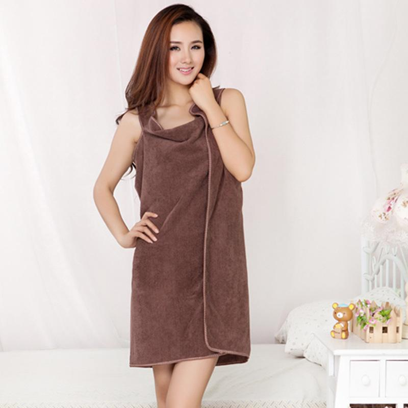 Coral Fleece Sling Bath Towel