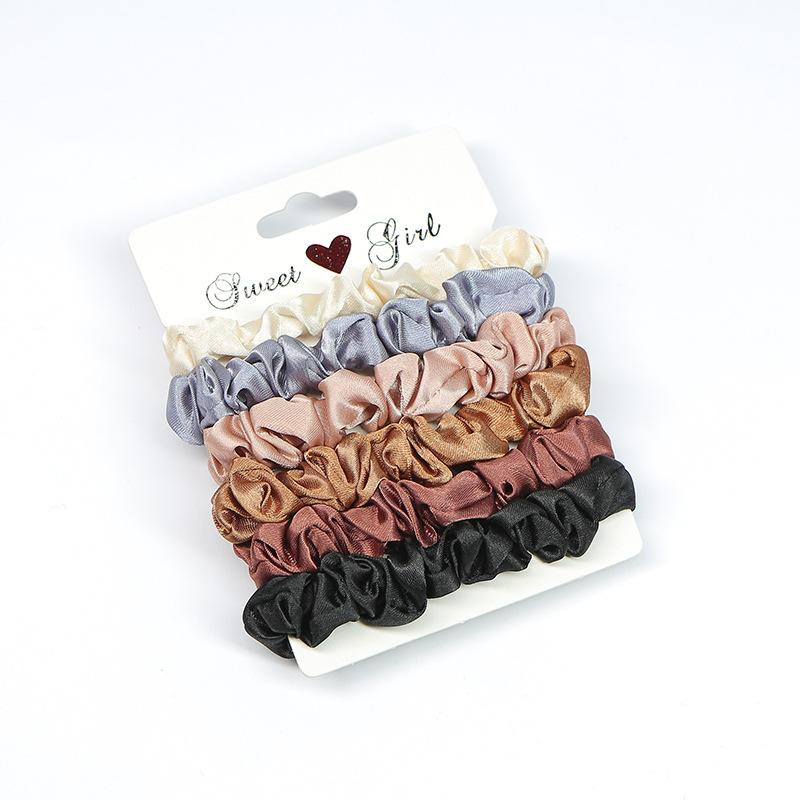 Sports Hair Scrunchie Set