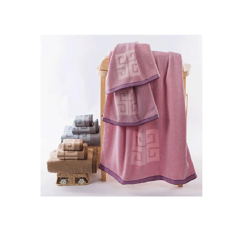 Greek Keys Bath Towel (3 Pieces/Set)