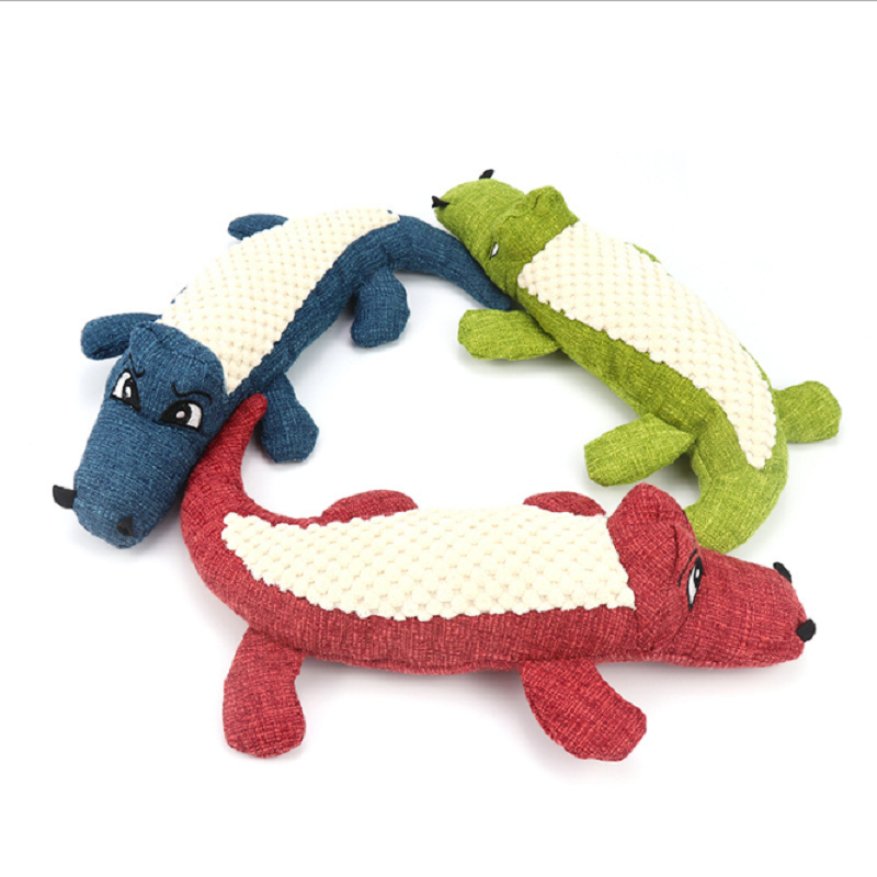 Gator Dog Toy