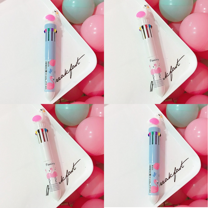 Swan 10 Colors Ballpoint Pen
