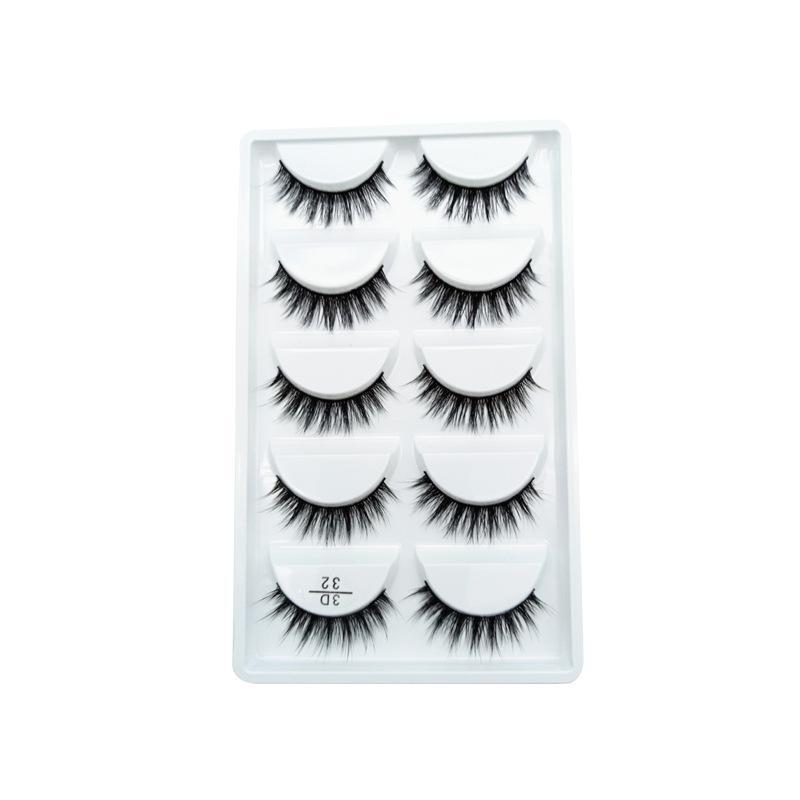 Lovely Fake Eyelash 5-pair Set