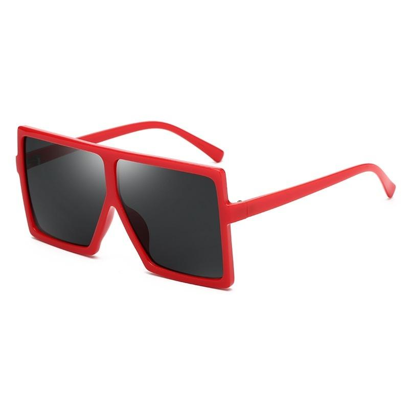 Oversized Box Frame Sunglasses